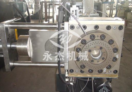 气动闸阀三通 模板 料斗 离心脱水机 拉条切模头 拉条挤出 接线端盒